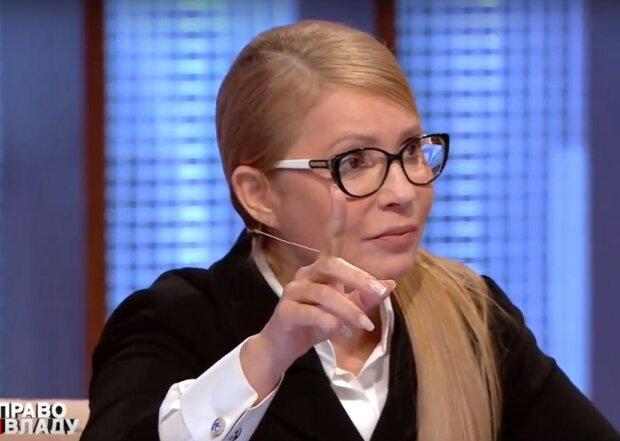 """Юлія Тимошенко в ефірі програми """"Право на владу"""""""