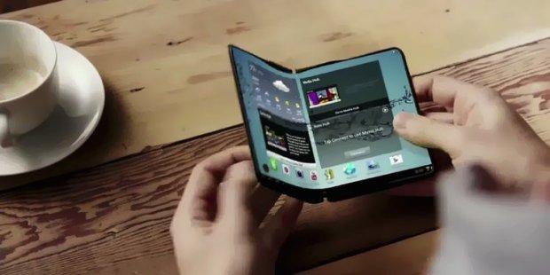 складаний смартфон від Samsung