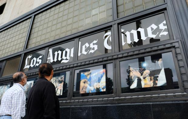Неизвестные напали на Los Angeles Times: первые подробности