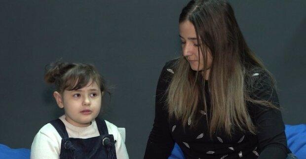 Семилетняя украинка победила рак, фото общественное