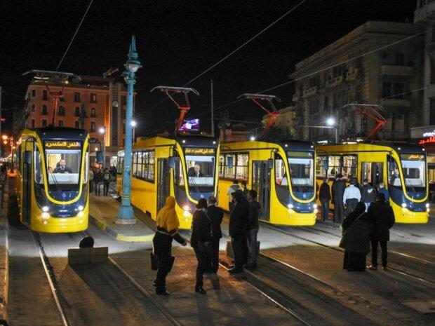 Украинские трамваи - в Египте, фото Александр Кава