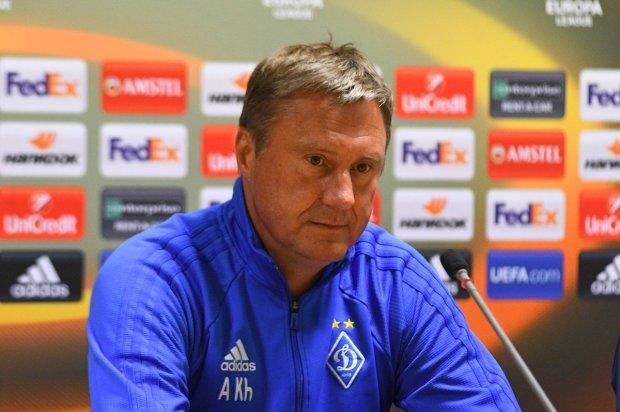 Хацкевич после матча Динамо в Лиге Европы снова заговорил об отставке