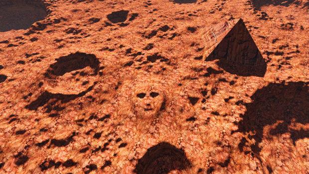 Могила короля: на Марсе обнаружили таинственную гробницу