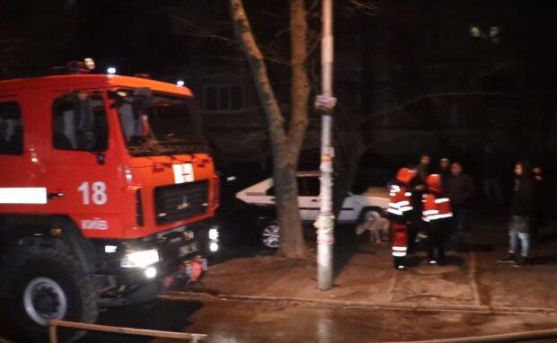 Пожежна бригада, скрін відео