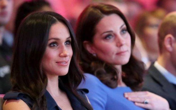 Не за того принца вийшла: Меган Маркл доведеться принижуватися перед Кейт Міддлтон