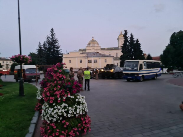 затримання терориста в Луцьку, фото з Twitter
