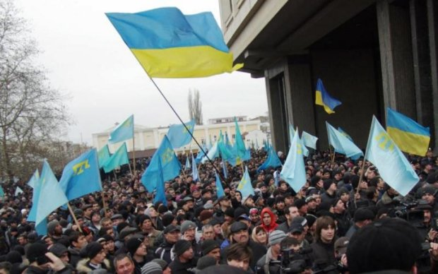 """Кримчани попрощались з """"несмитою Росією"""""""