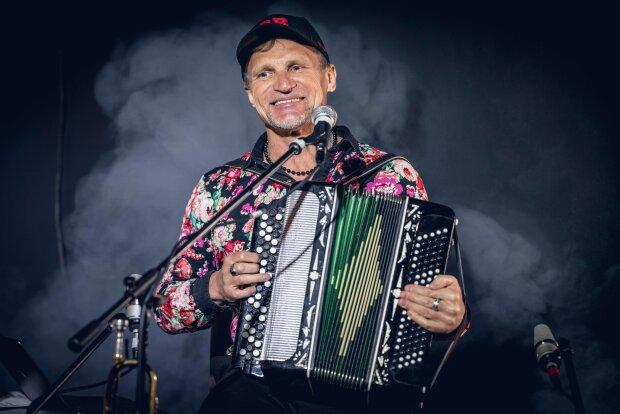 Олег Скрипка, фото пресс-службы Скрипки