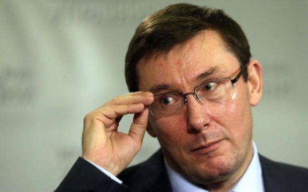 Послание судьям: Луценко намекнул на возможный пожар