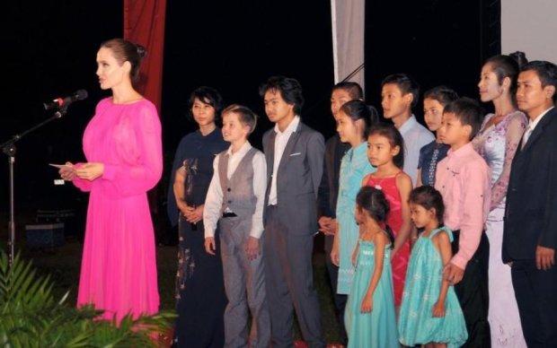 Джоли рассказала о самом необычном кастинге для детей