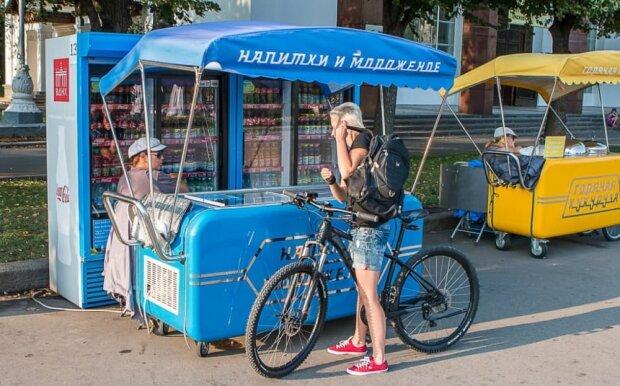 Кіоск з морозивом, фото з pxhere