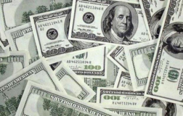 Доллар на межбанке подешевел на 1,14 гривен