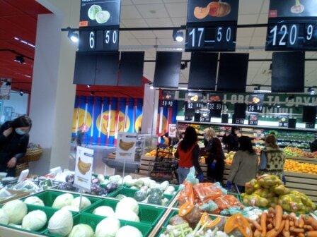 """цены на продукты, фото: """"Город Х"""""""
