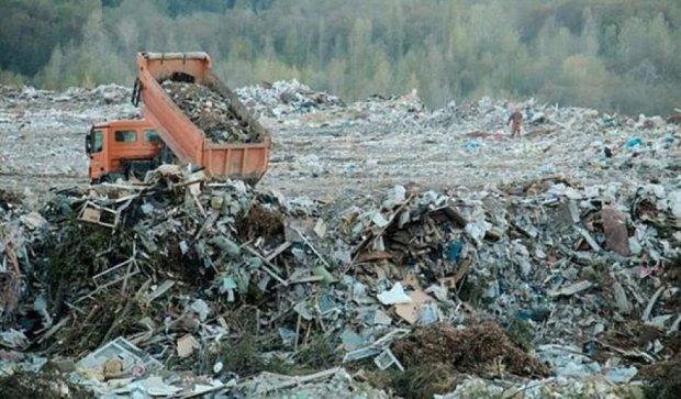 Заваленный мусором Полигон №6 отравляет жизнь киевлянам (фото)
