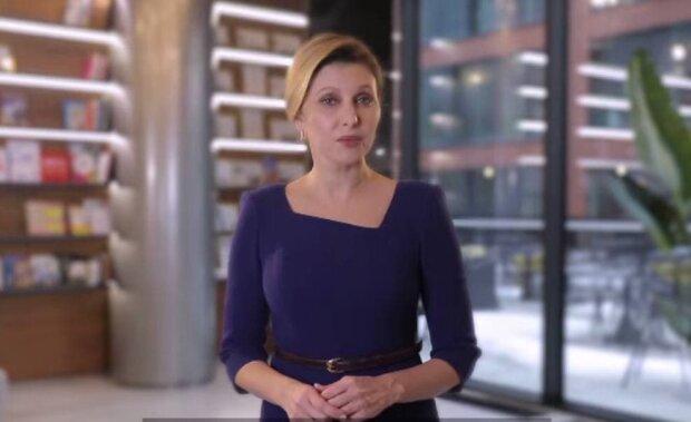 Олена Зеленська / скріншот з відео
