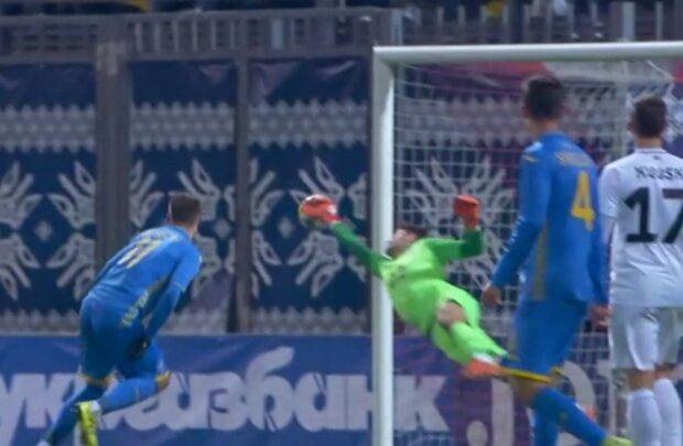 Матч Украина - Эстония, скриншот: Футбол 1