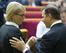 Ляшко та Тимошенко