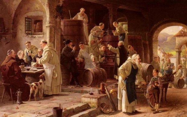 Вино лилось рекой: как церковь породила пьянство в Средневековье