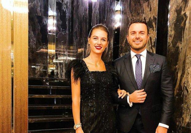 Григорій Решетник з дружиною, фото: Instagram