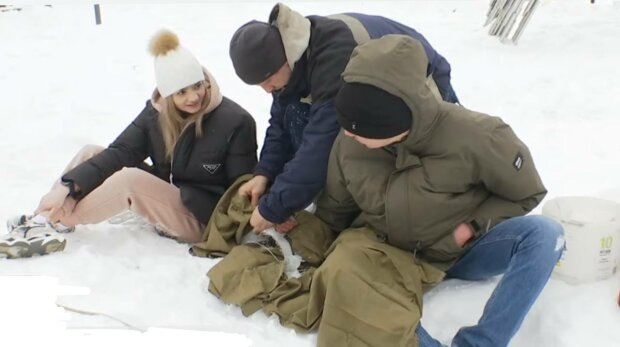 Пара из Харькова, фото: скриншот из видео