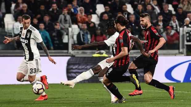 Ювентус вигриз перемогу в матчі з Міланом: Пйонтек знову забив