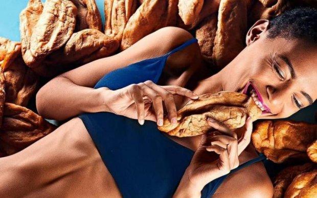 Жінка не м'ясо: на рекламу Київської перепічки чекає перевірка