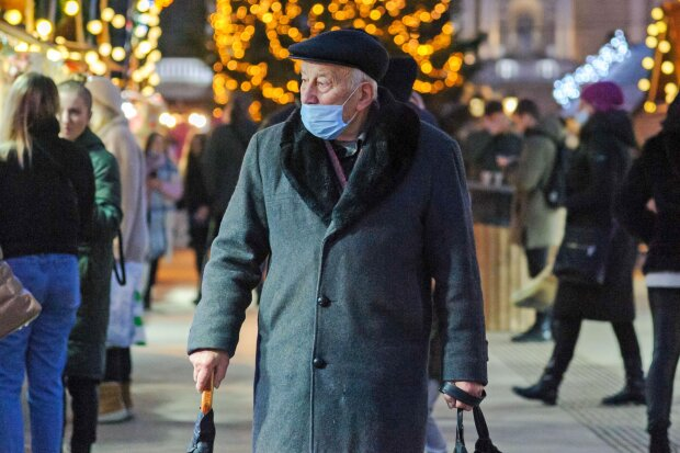 Пенсионер, фото: Unian