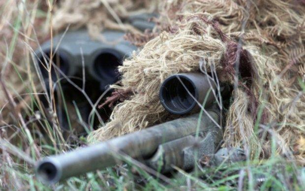 Украинские воины показали, как обманывают вражеских снайперов (видео)