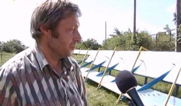 Миргородський фізик створив сонячний колектор