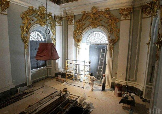 Реконструкція Андріївської церкви, фото: УНІАН
