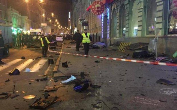 Первое видео ужасного ДТП в Харькове показали в сети