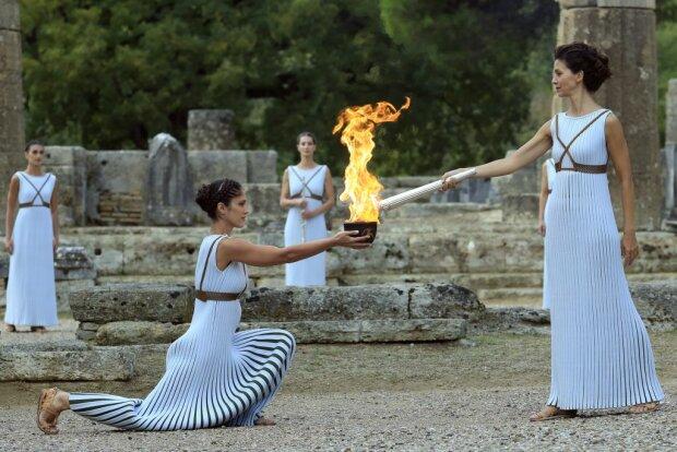 Церемонія запалювання олімпійського вогню, Getty Images