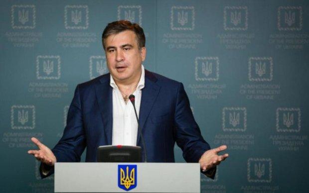 Куплю что-то маленькое: Саакашвили заинтриговал планами