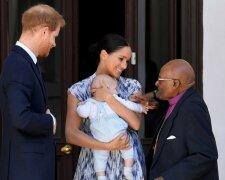 Сын Меган Маркл и принца Гарри впервые вышел в свет