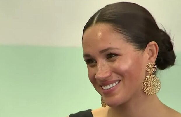Меган Маркл, кадр из видео