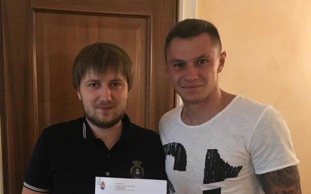 Шахтар підписав контракт з перспективним гравцем