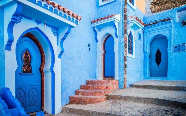 Путешествия в картинках: Марокко и магический синий цвет