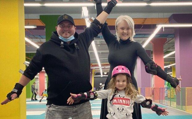 Юрій Ткач з сім'єю, фото з Instagram