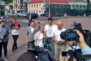 "Юлия Тимошенко, лидер фракции ""Батькивщина"""