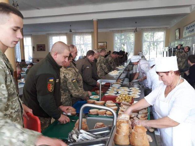 Столовая, Пресс-служба Оперативного Командования Запад