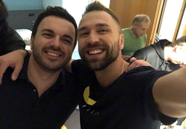 Макс Михайлюк и Григорий Решетник, фото с Instagram
