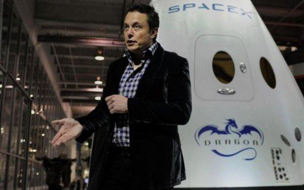 Маск йде в підземелля