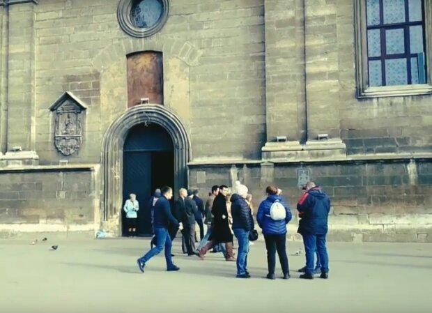 улицы Львова, скриншот с видео