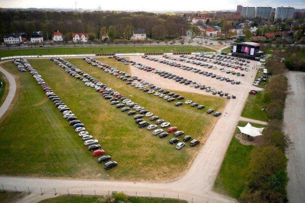 Авто-рок концерт в Дании