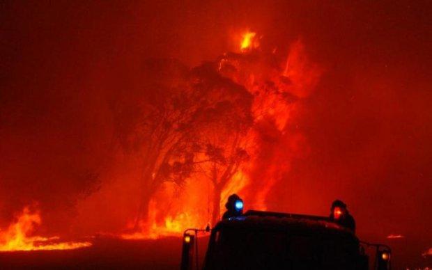 Подольский суд в Киеве охватило пламенем: фото