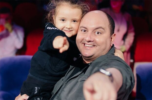 Юрій Ткач з донькою, фото з instagram