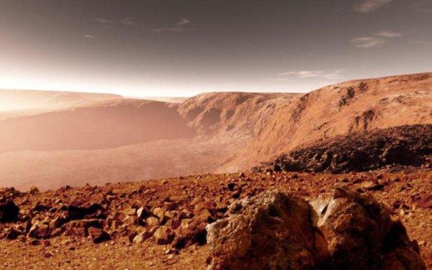 Пришельцы хорошенько наследили на Марсе: фото