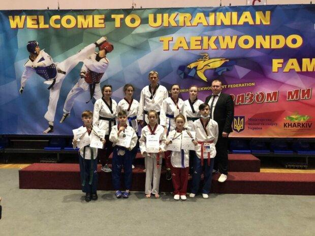 Иван Харив завоевал серебро на Чемпионате Украины по тхэквондо. Фото: Дрогобычский горсовет