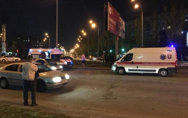 У Києві страшна ДТП: ексклюзивні фото з місця аварії