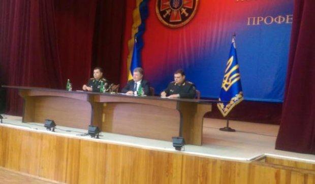 Порошенко призначив нового керівника розвідки Міноборони